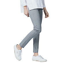 Buy Warehouse Stripe Skinny Cut Jeans, Multi Online at johnlewis.com