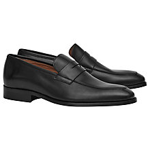 Buy Reiss Korner Leather Penny Loafers Online at johnlewis.com