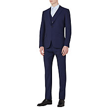Buy Reiss Jones Wool Classic Fit Three Piece Suit, Blue Online at johnlewis.com