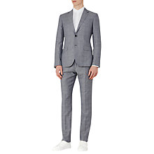 Buy Reiss Buckingham Wool Linen Slim Fit Suit, Light Blue Online at johnlewis.com