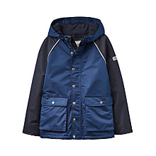 Buy Little Joule Boys' Junior Playground Jacket, Navy Online at johnlewis.com