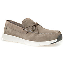 Buy Geox Snapish Slip-On Shoes, Taupe Online at johnlewis.com