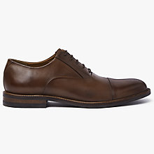 Buy John Lewis Casual Toe Cap Oxford Shoes, Conker Online at johnlewis.com