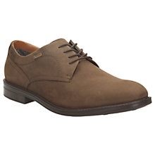 Buy Clarks Chilver Walk GTX Waterproof Shoes, Dark Brown Online at johnlewis.com