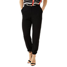 Buy Fenn Wright Manson Petite Lyon Trousers, Black Online at johnlewis.com