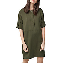 Buy Warehouse Popper Detail Dress Online at johnlewis.com