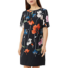 Buy Fenn Wright Manson Petite Rhodes Dress, Navy/Multi Online at johnlewis.com