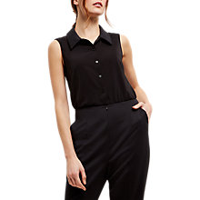 Buy Jaeger Blouson Jumpsuit, Black Online at johnlewis.com