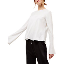Buy Jaeger Fluted Sleeve Top Online at johnlewis.com
