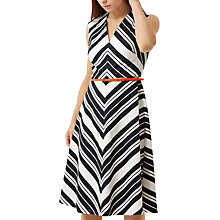 Buy Fenn Wright Manson Petite Copenhagen Dress, White/Black Online at johnlewis.com