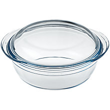 Buy Ocuisine Casserole Dish, Clear Online at johnlewis.com