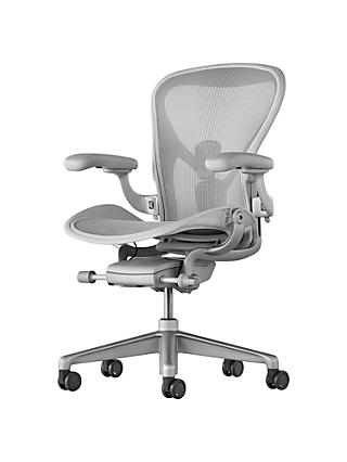Herman Miller Aeron Office Chair, Mineral