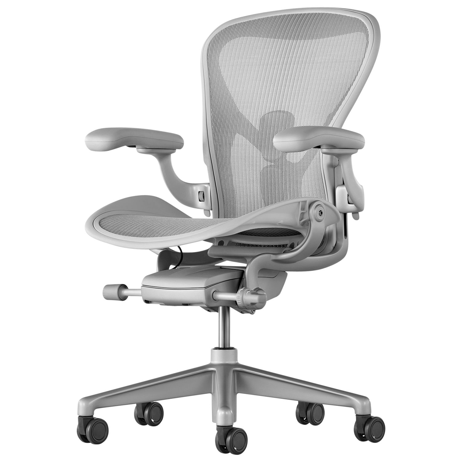 Herman Miller Herman Miller Aeron Office Chair, Mineral