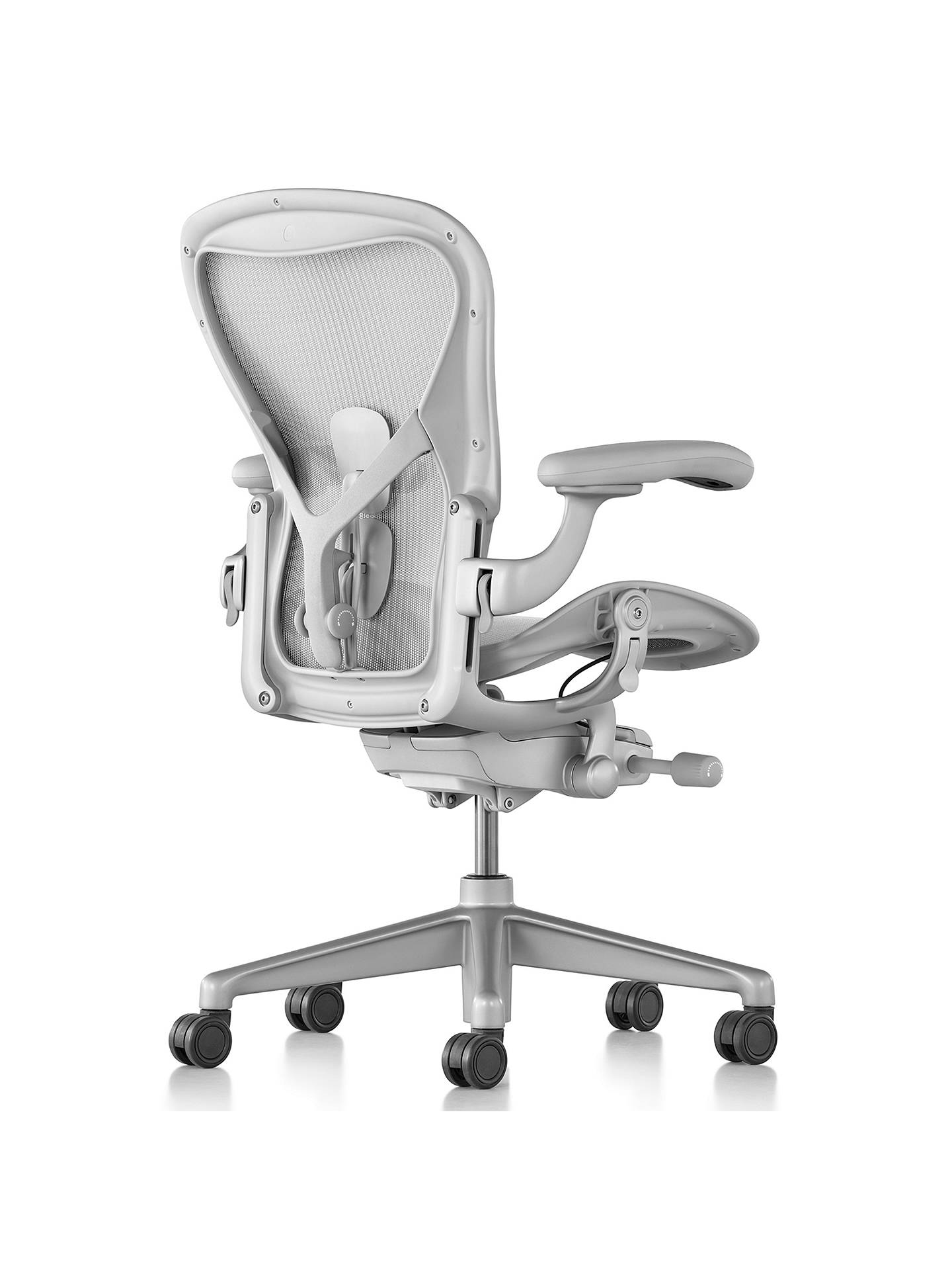 Herman Miller New Aeron Office Chair Mineral At John