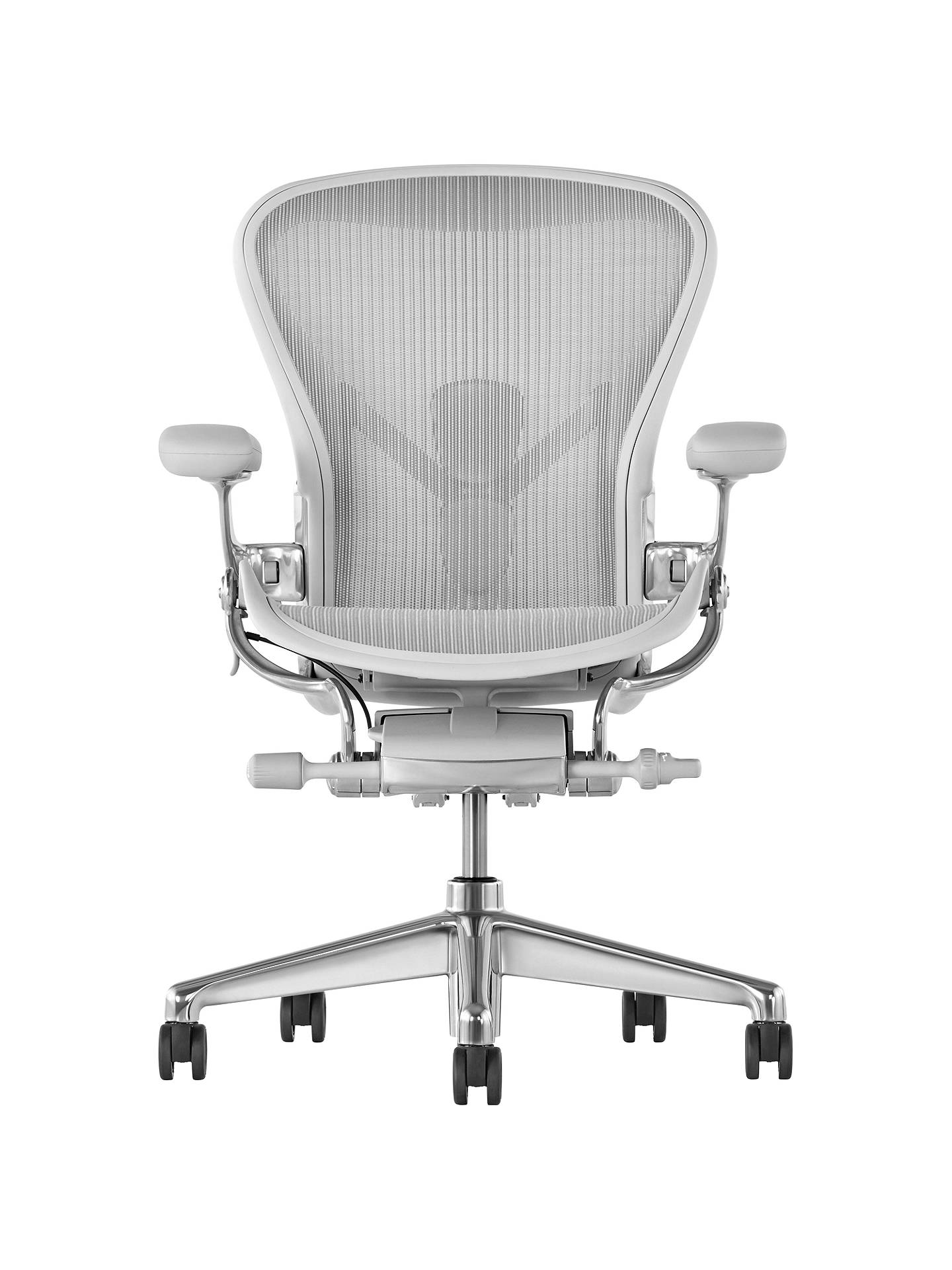 Herman Miller Aeron Office Chair Mineral Polished