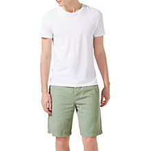 Buy Jigsaw Linen Cotton Garment Dye Shorts Online at johnlewis.com
