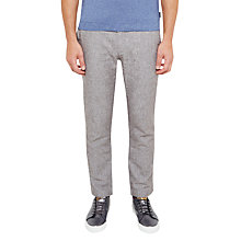 Buy Ted Baker Olden Linen-Blend Slim Fit Trousers Online at johnlewis.com