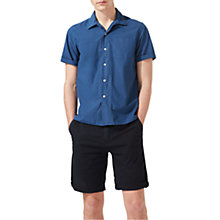 Buy Jigsaw Cotton Garment Dyed Shorts Online at johnlewis.com