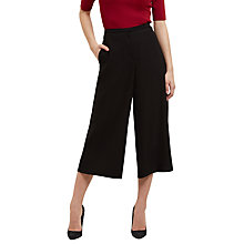 Buy Jaeger High-Waisted Fluid Trouser, Black Online at johnlewis.com