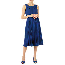 Buy Jacques Vert Lace Insert Dress, Dark Blue Online at johnlewis.com
