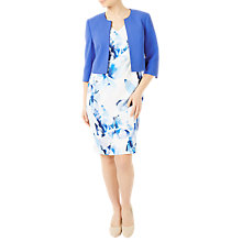 Buy Jacques Vert Petite Bolero, Mid Blue Online at johnlewis.com