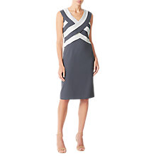 Buy Jacques Vert Panel Layered Shift Dress Online at johnlewis.com