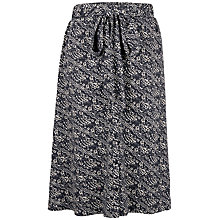 Buy Fat Face Mina Tribal Stripe Skirt, Phantom Online at johnlewis.com