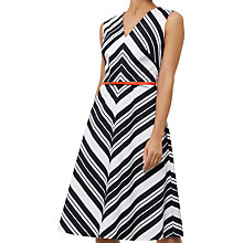 Buy Fenn Wright Manson Copenhagen Dress, White/Black Online at johnlewis.com