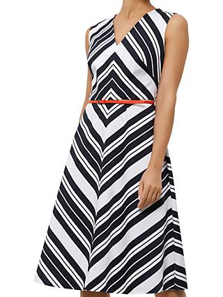 Fenn Wright Manson Copenhagen Dress, White/Black