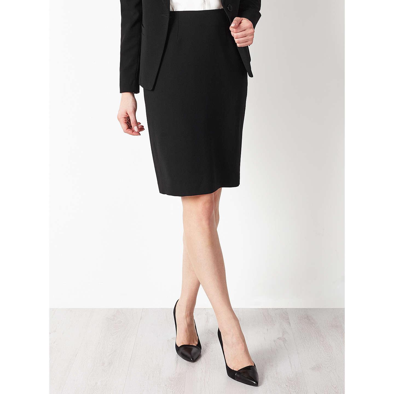BuyJohn Lewis Eva Crepe Skirt Black 8