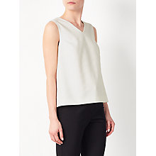 Buy John Lewis Self Stripe Top, White Online at johnlewis.com
