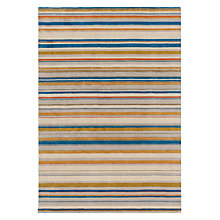 Buy John Lewis Spirit Stripe Rug, Multi Online at johnlewis.com