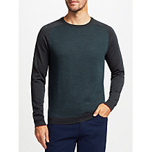Buy John Lewis Merino Birdseye Raglan Sleeve Jumper Online at johnlewis.com
