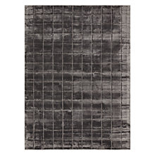 Buy John Lewis Collector's House Grid Rug, Grey Online at johnlewis.com