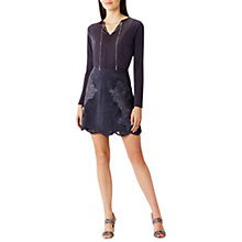 Buy Coast Belina Chain Trim Top, Gun Metal Online at johnlewis.com