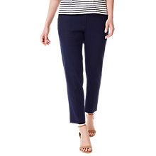 Buy Precis Petite Lyra Trousers, Navy Online at johnlewis.com