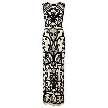 Buy Phase Eight Collection 8 Erla Tapework Dress, Black/Cream Online at johnlewis.com