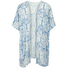 Buy Fat Face Covean Etched Cover Up, Ivory/Blue Online at johnlewis.com