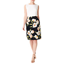Buy Precis Petite Floral Print Skirt, Multi Online at johnlewis.com