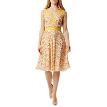Buy Damsel in a dress Amsterdam Tia Dress, Orange Online at johnlewis.com