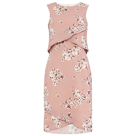 Buy Phase Eight Flo Blossom Print Dress, Opal Online at johnlewis.com