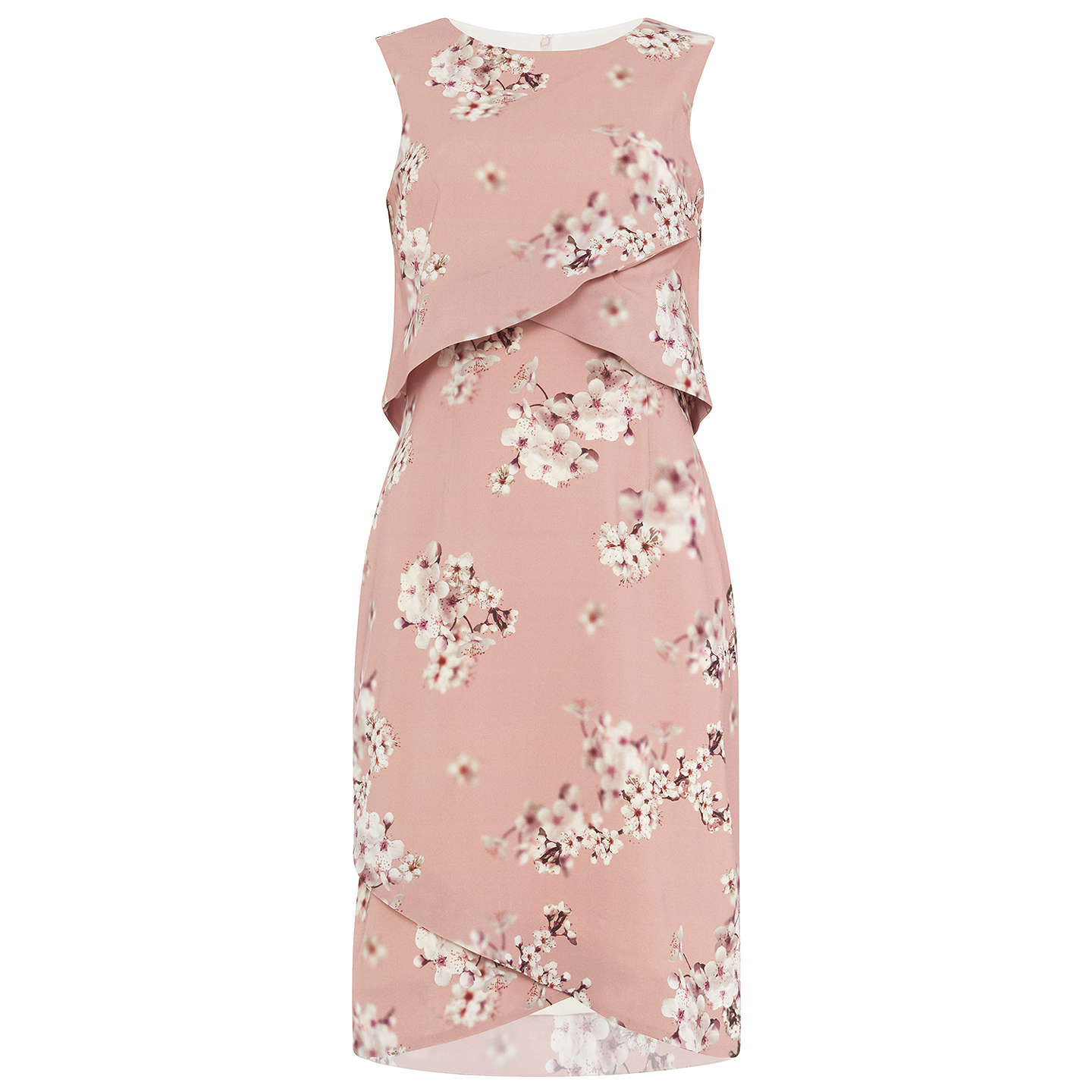 BuyPhase Eight Flo Blossom Print Dress, Opal, 16 Online at johnlewis.com