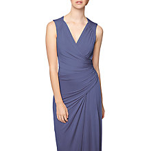 Buy Phase Eight Annoushka Wrap Front Dress, Steel Online at johnlewis.com