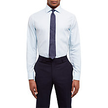 Buy Jaeger Subtle Gingham Regular Fit Shirt, Mint Online at johnlewis.com