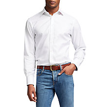 Buy Thomas Pink Hercules Slim Fit Shirt, White Online at johnlewis.com