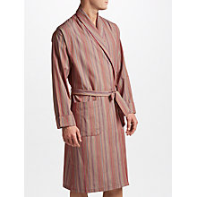 Buy Paul Smith Signature Stripe Cotton Robe, Multi Online at johnlewis.com