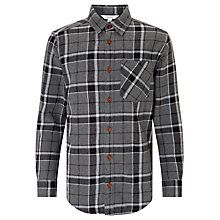 Buy John Lewis Childrens' Long Sleeve Check Shirt, Grey Online at johnlewis.com
