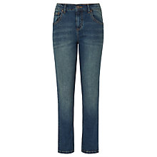 Buy John Lewis Boys' Relaxed Tapered Jeans, Denim Online at johnlewis.com