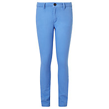 Buy Lyle & Scott Boys' Chino Trousers, Harbour Blue Online at johnlewis.com