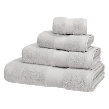 Buy John Lewis Classic Towels, Blue Grey Online at johnlewis.com